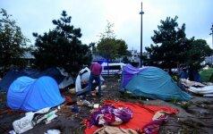 В Париже ликвидирован нелегальный лагерь для беженцев