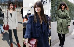 Rudens stiliaus gidas: kaip šaltuoju metų laiku rengtis lyg prancūzei