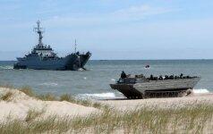 В Балтийском море - неопасные контакты с россиянами
