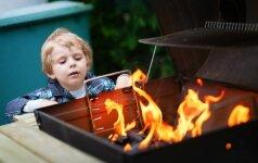 Iškylai gamtoje - vaikų mėgstamas skanėstas