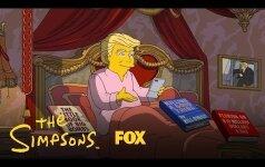 В Симпсонах высмеяли достижения Трампа за 100 дней президентства