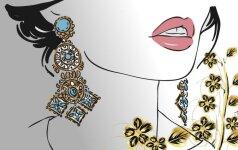 Kam jokiu būdu nevalia nešioti auksinių papuošalų