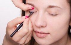 19 akių kontūro linijų, galinčių pakeisti tavo akių formą