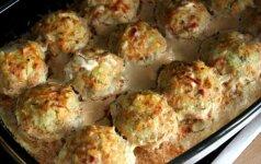 Balandėliai tinginėliai: skaniausių pietų idėja