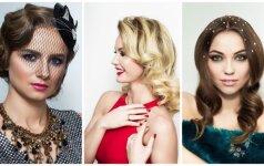 Šventiniai įvaizdžiai – pagal naujausias makiažo ir šukuosenų tendencijas