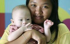 Šokiruojantis istorijos tęsinys apie paliktą Dauno sindromą turintį kūdikį