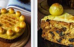 Velykinis vaisių pyragas