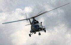 Литовские военные вертолеты хотели чинить в России, но не получилось