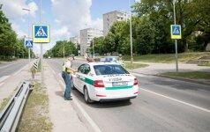 В Вильнюсе 82-летняя водитель сбила пешехода