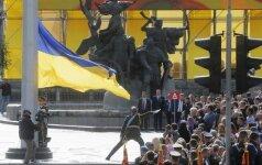 Министры обороны стран Балтии встретились в Киеве с Порошенко