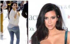 Kaip anksčiau atrodė Kim Kardashian užpakaliukas