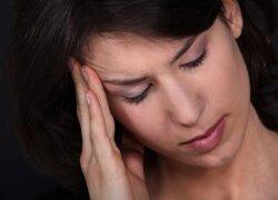 Ar visada galvos skausmas nekaltas? Kokias ligas tai gali pranašauti?