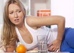 Gydytoja: negydant virškinimo sutrikimų galima atsidurti net reanimacijoje