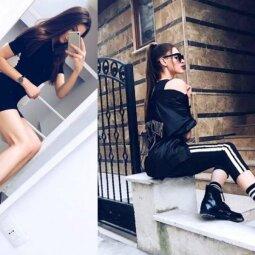 """Sparčiai modelio karjeros laiptais kylanti Laura: """"Įspūdingo grožio kojos – genų dovana"""" (FOTO)"""