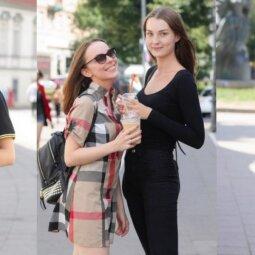 Šiltais orais pasidžiaugti į gatves suplūdę stilingieji vilniečiai: rask galerijoje save! (FOTO)