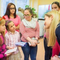 PANELĖS komanda Moters dieną šventė kitaip