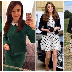 Kate Middleton aklai kopijuojanti mergina: vienus žavės, kitus juokins (FOTO)