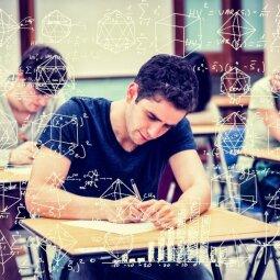Matematikos brandos egzamino rezultatai neblizga: didelė dalis net nebandė atlikti užduočių