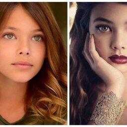 Įspūdingiausia žaliaakė mergaitė jau paauglė - grožiu lenkia bet kurią (FOTO)