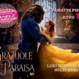 """PANELĖ pristato premjerą: pasakiškai gražus filmas """"GRAŽUOLĖ IR PABAISA"""""""