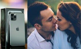 Konkurse galite laimėti iPhone 11 Pro išmanųjį telefoną.