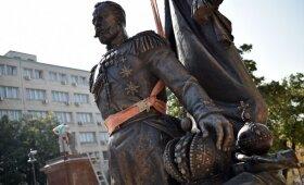 Belgrade pastatytas paminklas Rusijos carui Nikolajui II