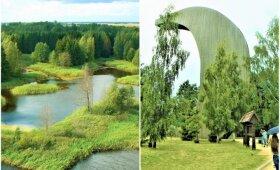 Turime kuo didžiuotis: vaizdai nuo Lietuvos apžvalgos bokštų užburia savo grožiu