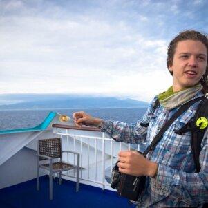 Lietuvis į gyvenimo kelionę išsiruošė be cento kišenėje (FOTO)