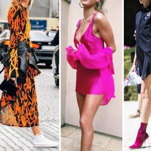 10 dailiausių suknelių ir batelių derinių vasarai (FOTO)