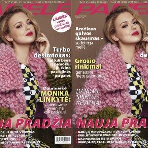 Nauja PANELĖ: sausio numerio žvaigždė – dainininkė Monika Linkytė(FOTO+KONKURSAS)