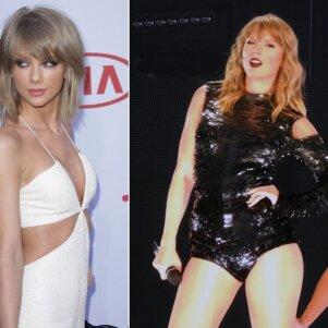 Gerbėjai nebepažįsta Taylor Swift: priaugti kilogramai pavertė ją kitu žmogumi (FOTO)