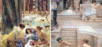 Griauname mitus apie viduramžių maudynes