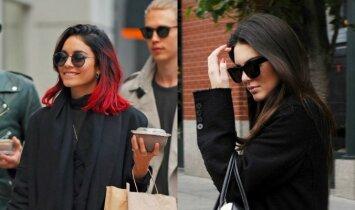 Stiliaus dvikova: Kendall Jenner prieš Vanessą Hudgens(BALSUOK)