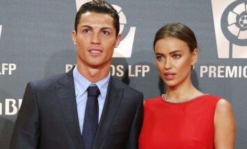 Cristiano Ronaldo ir Irina Šeik