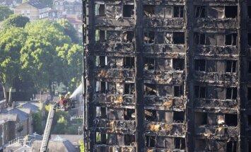 Жителей пяти башен в Лондоне эвакуируют из-за опасной облицовки