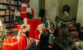 Рождественский городок и ярмарка на вокзале
