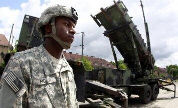 Patriot long-range air defense system in Poland