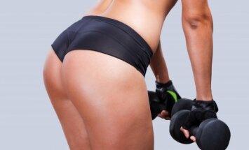 Sporto pratimai: liekna iki pirštų galiukų