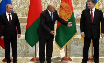 Vladimiras Putinas, Aleksandras Lukašenka, Petro Porošenka