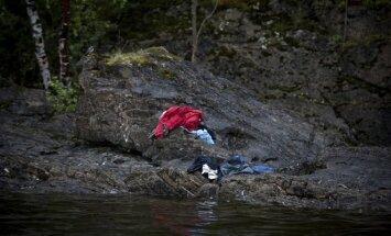 Utoya, Niclasas Hammerstromas, Švedija. A.B.Breivikas Utojos saloje Norvegijoje liepos 22 d.  nužudė 69 žmones.