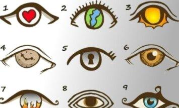 """Asmenybės bruožų testas """"Matau iš akių"""""""
