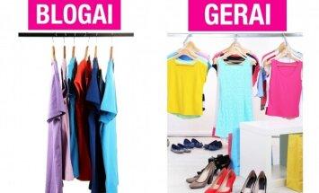 17 gudrybių, kad tavo drabužiai atrodytų tobulai