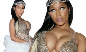 Žvaigždės be stilistų: kaip  Nicki Minaj  atrodo realiame gyvenime