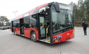 Naujieji Vilniaus autobusai Solaris Urbino