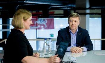 Jurga Tvaskienė ir Ramūnas Karbauskis
