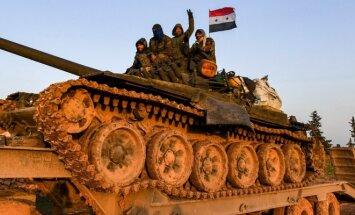 Sirijos pajėgos netoli Manbidžo