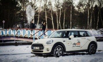 CityBee parko Mini One automobilis