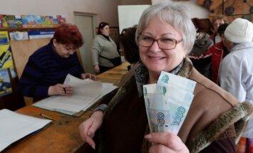 Rusija, pensija, pensininkė, Krymas