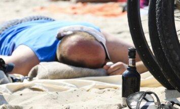 Gelbėtojai paviešino įrašus, ką paplūdimiuose išdarinėja girti lietuviai