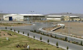 Irano branduolinio kuro sodrinimo įrenginiai Natanzo mieste
